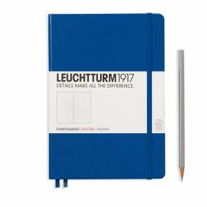 Leuchtturm Medium A5 Royal Blue Punktet