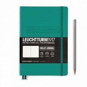 emerald-bullet-journal-notebook
