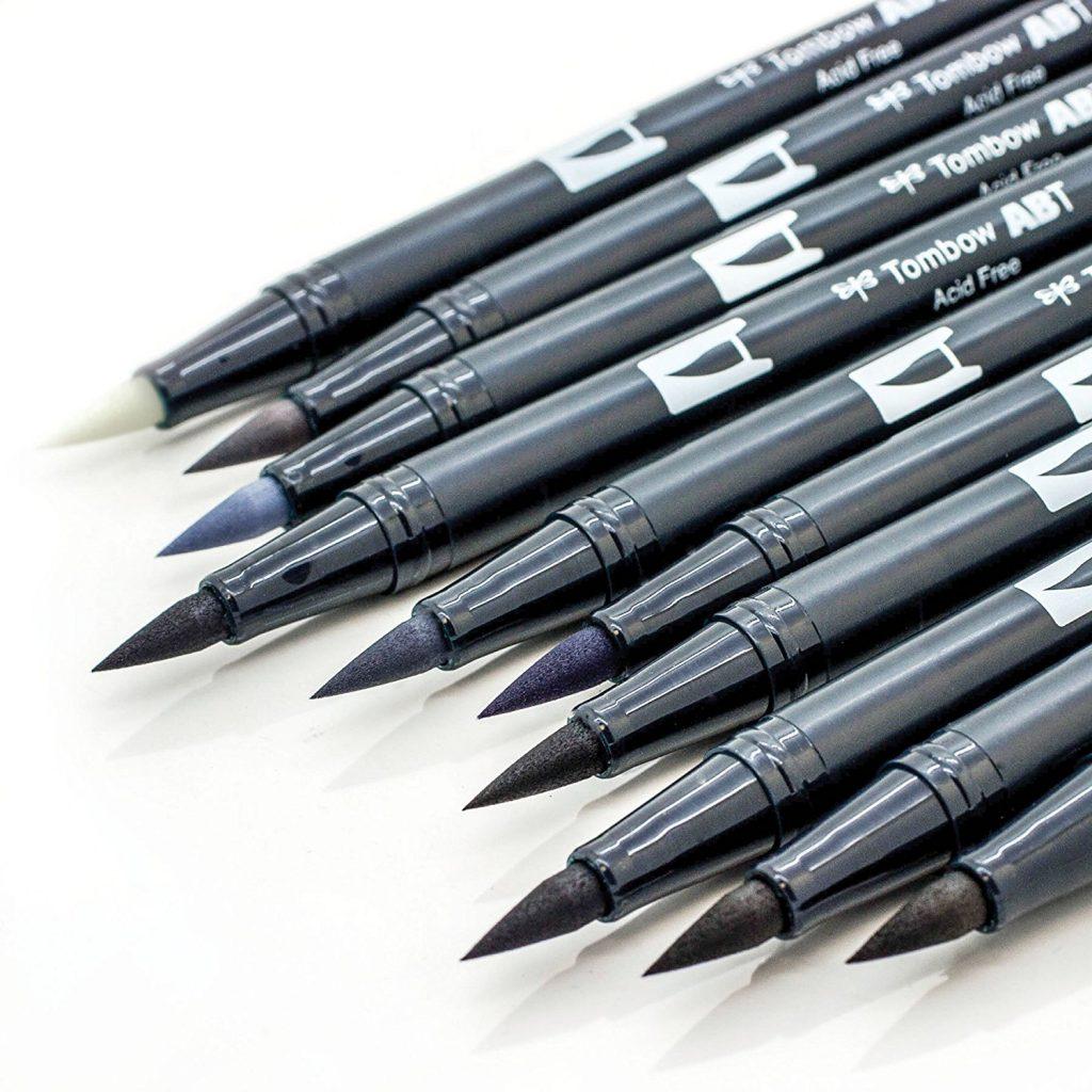 Tombow ABT Dual Brush Pens Løse Tusjer Tudos - Tombow abt