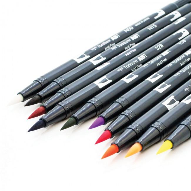 Tombow ABT Dual Brush Pens – Løse tusjer – Tudos