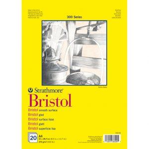 Strathmore, Bristol papir blokk, skisseblokk, syrefritt papir