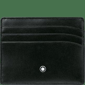 Montblanc – Svart Meisterstück Kortholder