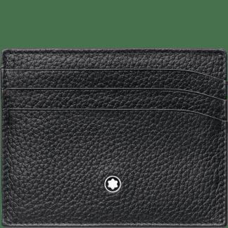 Montblanc – Svart Meisterstück Soft Grain Kortholder