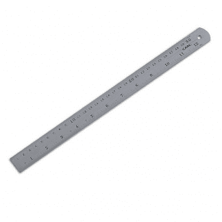 Alf Bjercke 30 cm Stållinjal, linjal