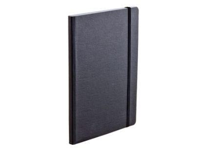 Sort Fabriano Notebook i A5 format med prikker. Dotted fabriano notebook