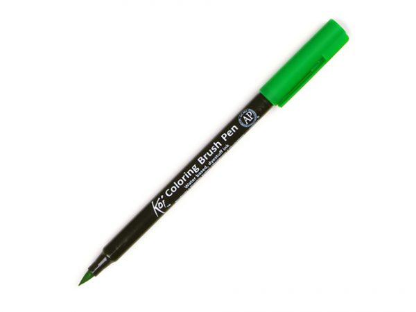 Koi Colouring Brush Pen Løse tusjer grønn