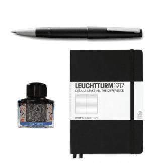 Pakke Lamy 2000, diamine anniversary , Leuchtturm 1917 a5