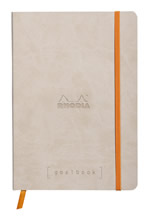 Rhodia notatbok Goalbook Softcover Dotted A5 beige farge