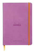 Rhodia notatbok Goalbook Softcover Dotted A5 rosa