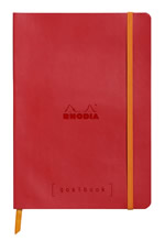 Rhodia notatbok Goalbook Softcover Dotted A5 rød