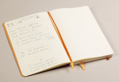 Rhodia notatbok Goalbook Softcover Dotted A5