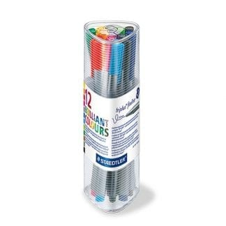 Staedtler Brilliant colours sett 12 farger 0.3mm fineliner