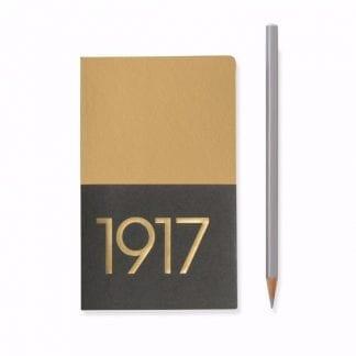 Leuchtturm 1917 Jottbook gull gold notatbok