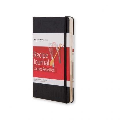 Moleskine Passion Oppskrifts journal middagsoppskrifter