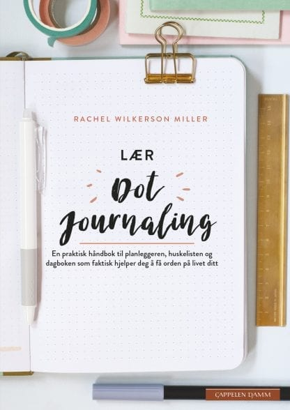 Lær dot journaling bok