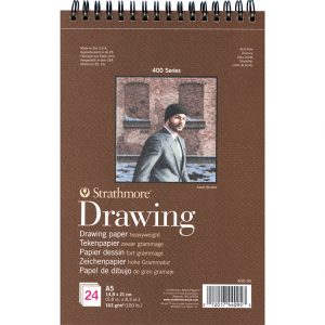 Strathmore 400 – Drawing Paper – A5 – 24ark