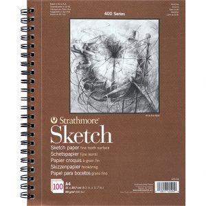 Strathmore 400 – Sketch Paper – A4 – 100ark