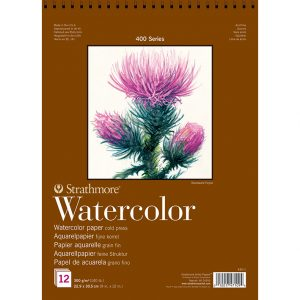 Strathmore 400 – Watercolor Paper – 22,9×30,5 12 – 12ark