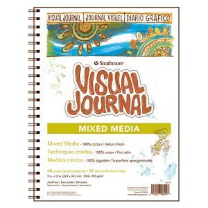 Strathmore 500 – Visual Journal Mix Media – 22,9X30,5