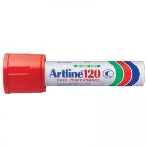 artline 120 markeringstusj rød