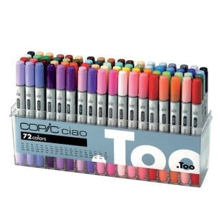 copic ciao markers 72