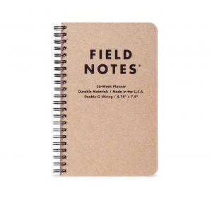 56 week planner notatblokk
