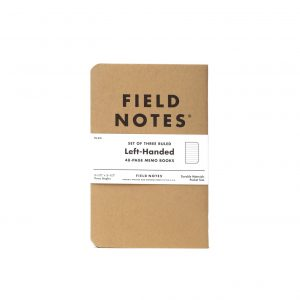 Field Notes left handed
