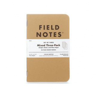 Notatbøker field notes