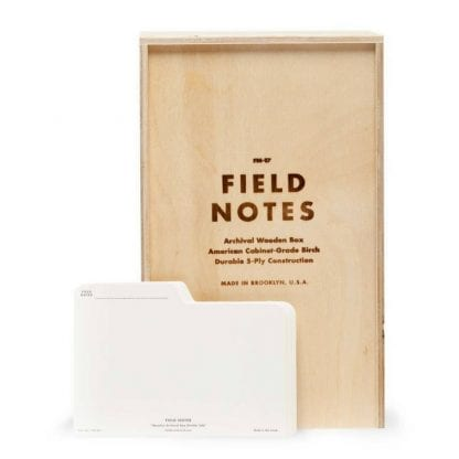 Field Notes Wooden Box