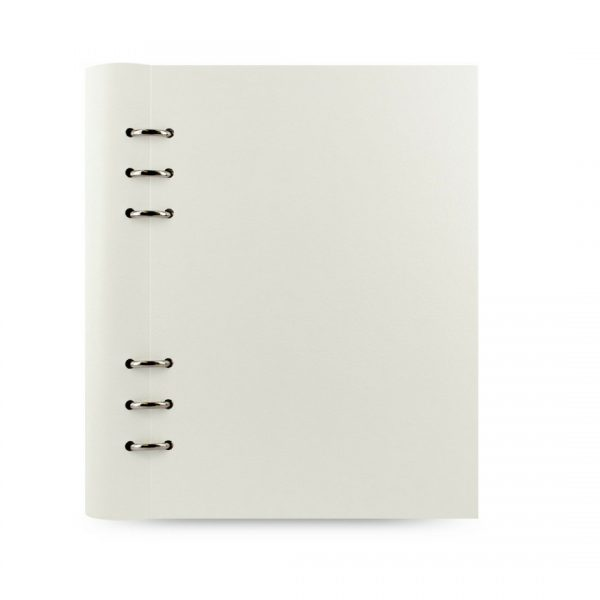 Filofax Clipbook hvit