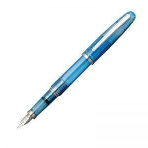 Platinum Balance Crystal Blue Fyllepenn