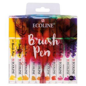 Ecoline 20stk brush pens