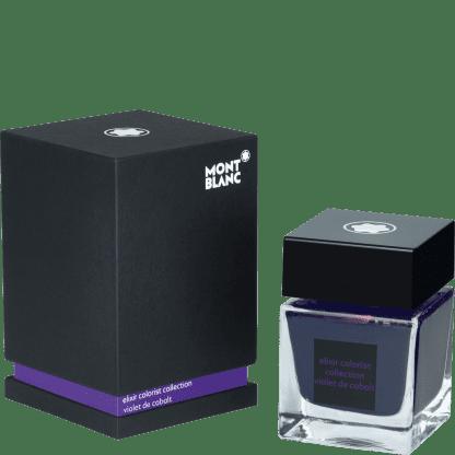 Montblanc blekk elixir colorist collection - violet de cobalt