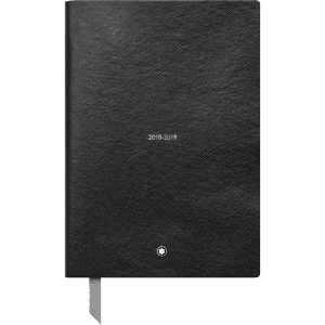 Montblanc weekly diary 2018-2019 black