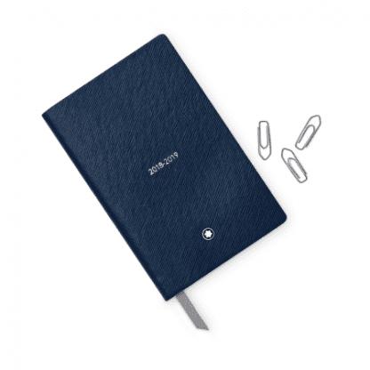Montblanc Weekly diary 2018-2019 pocket indigo